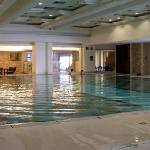 Una delle piscine interne