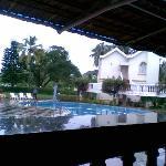 Hotel View from Oprn Restaurent