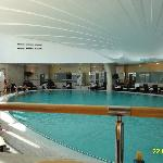 VIEW INSIDE LES THERMES MARINS.