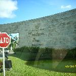 Entrance Mayan Resort