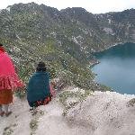 Nearby Lake Quilotoa