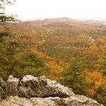 Crowders Mountain 4 mile hike view from top