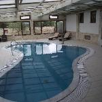 Indoor pool and spa  (excellent)