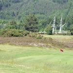 9th green looking towards Caledonian Canal