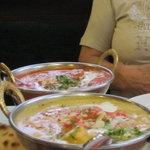 Chicken Ghee und Chicken-Shahi-Korma