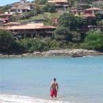 Ferradura beach near Vila Pitanga