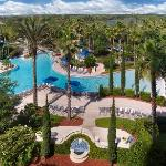 15 acres of pools, tropical landscape and recreation options.