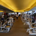 großzügiger Fitnessraum