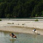 Riding at H2O Patagonia