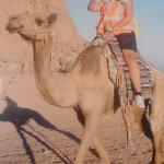 Riding camel during Ultimate Dessert Experiance
