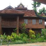 Beautiful Teak Villa  at Resort