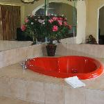 the jacuzzi room