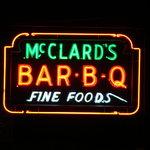 McClard's neon sign