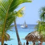 Belle couleur plage de bayahibé