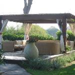 endroit de repos dans le jardin