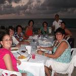 Dinner on the beach.  That was an amazing experience.