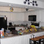 Unit #205 kitchen