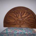 carved bedboards