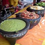 These are the Salsas