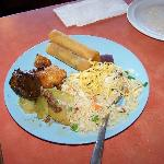 A plate from Chan's.