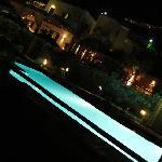 ristorante sopra la piscina