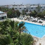 Pool des Hotels - Auflagen sehr alt