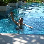 piscine très bien et relaxante
