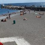 Amalfi Beach on a fine day