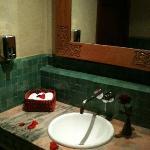 coin de la salle de bain de la salle de bains