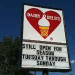 Dairy Delite Sign