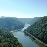 Hawk Nest State Park Overlook
