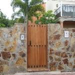 If you stay in a building away from the reception, it is easier to use this gateway to the beach
