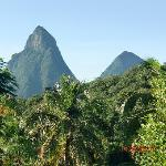 The Pitons - View from our room