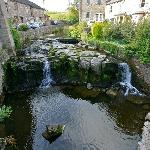 waterfall in hawes