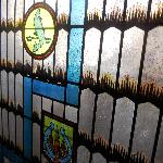 Stained Glass in the Hallway
