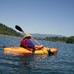 Me, an old  wounded vet, Kayaking