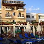 Hôtel Akti Olous, depuis le Blue Sea Restaurant