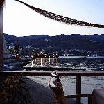 Vue vers Elounda, depuis le Blue Sea Restaurant