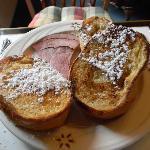 French toast & ham