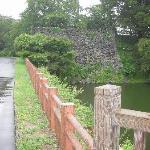 山形城 お堀と石垣