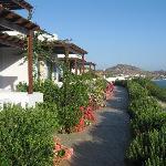 View from Hotel Nefeli Kampos