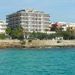 hotel from jetty