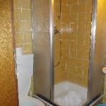 Hokje als badkamer/ toilet