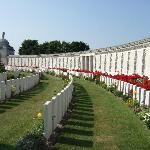 An unscheduled visit to Tyne Cot Cemetery