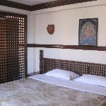 ポカラから戻って来たときに泊まった部屋。最初に泊まった部屋よりずっと快適でした。
