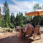 Entspannung auf der Terrasse