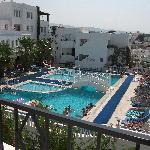 Another lovely view of the pool area