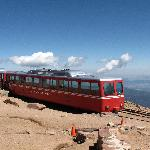 The train at the summit.