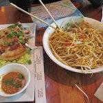 Malay Style Roti & Spicy Peanut Noodle Box
