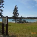 Wasa Lake, 40 Minuten vom Hotel entfernt.